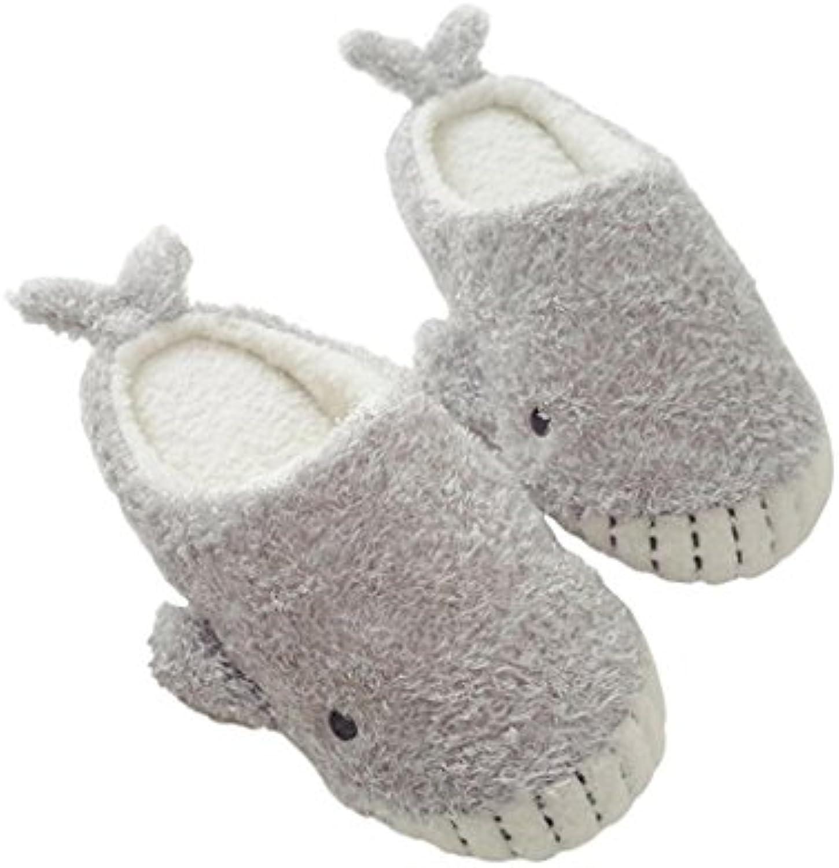 Pantoffeln?Womens Indoor Warm Baumwolle Slippers Damen Mädchen Niedlich Winter Soft Cozy Pantoffeln , 38-39