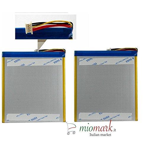 batteria tablet mediacom MEDIACOM BATTERIA ORIGINALE PER TABLET MEDIACOM W801 M-WPW801 - SPED. TRACCIATA