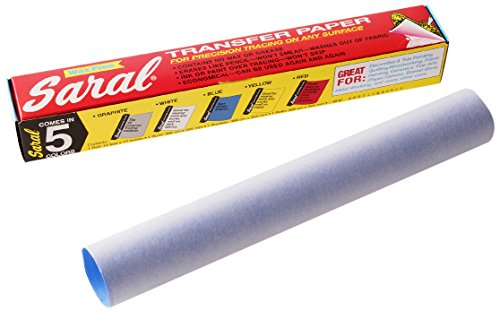 Saral 12 Zoll x 3.66 meters/304 x 3,35 m-Transfer-Rolle, Blau