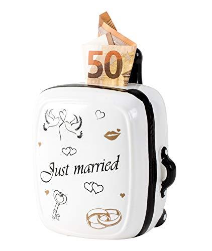 Lifestyle & More Hucha Moderna Just Married Boda cerámica