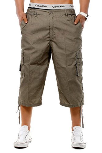 Mens Shorts MoSpace ID1263 (différentes couleurs), Farben:Green;Größe-Shorts:L