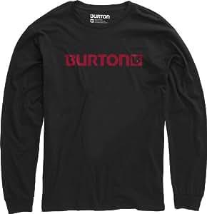 Burton Herren Langarmshirt Logo Horizontal Longsleeve, True Black, 56/58 (XL), 11221100002