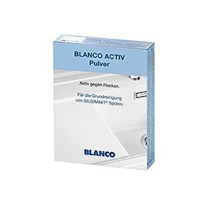BLANCO Activ Pulver| zur Grundreinigung von Silgranit Spülen | 3er Pack | 520784