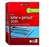 Lexware lohn+gehalt 2019 basis-Version Minibox (Jahreslizenz)|Einfache Lohn- und Gehaltsabrechnungs-Software f�r Freiberufler, Handwerker und Kleinbetriebe|Kompatibel mit Windows 7 oder aktueller Bild