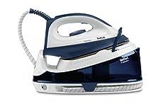 Tefal Fasteo SV6040 2200W 1.2L Ceramica Blu, Bianco ferro da stiro a caldaia