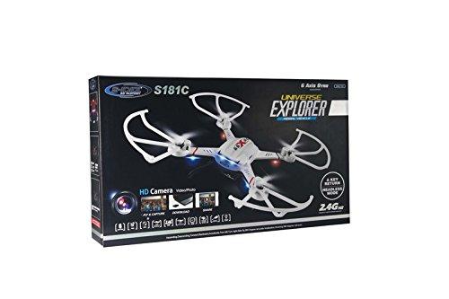 s-idee 01502 Quadrocopter S181C HD KAMERA 4.5 Kanal 2.4 Ghz Drohne mit Gyroscope Technik - 8