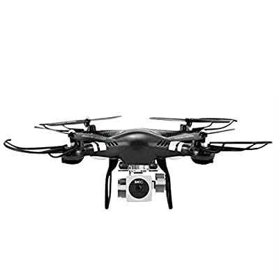 Fanxing Remote Controls RC Quadcopter 1080P Wide Angle Lens 270 Degree Rotating HD Camera Drone FPV Gift