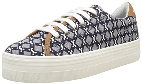 no-name-damen-plato-sneaker-flach-blau-blue-39-eu