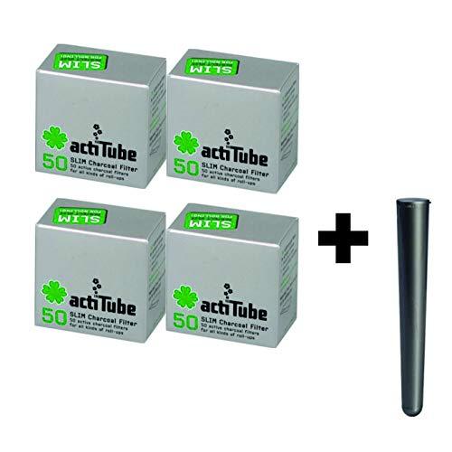 ActiTube Slim - Filtro de carbón Activo 7,1 m, 4x50200