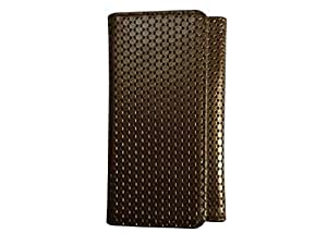 ATV PU Leather DARK GOLDEN ROD COLOR Pouch Case Flip Cover For HTC One (M8) CDMA