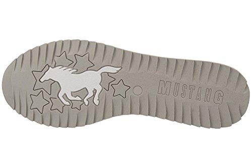 Mustang 1237-401-21, Mocassini Donna Silber (21 silber)