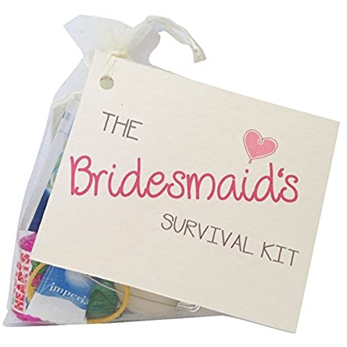 The Bridesmaid Novelty Survival Kit Wedding Gift For Keepsake Favour