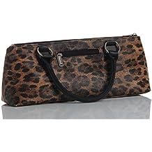 ludi-vin 5060388471262bolsa alta costura termo botella y sacacorchos Tejido leopardo 36,5x 9,5x 15,5cm Set de 2