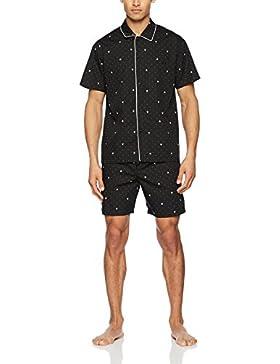 Hom Frenchy Short Woven Sleepwear, Pigiama Uomo