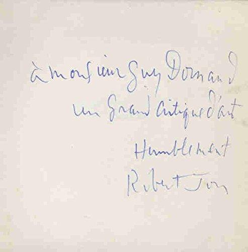Les Nus Poétiques de ROBERT JON. Texte de. 1ª edición. Autográfo del pintor. Rara