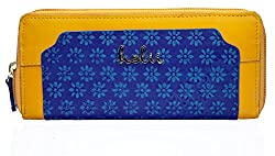 Holii Hip Hop W2 Womens Zip Around Bag (Blue)