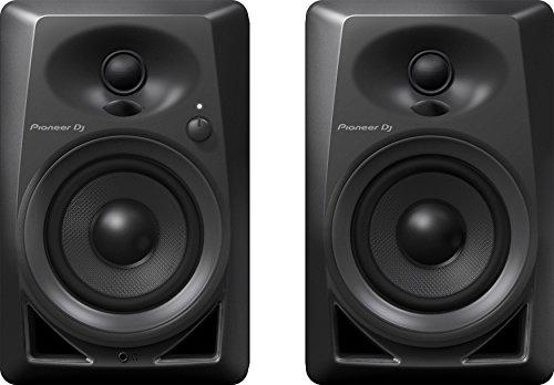 """Pioneer DJ DM-40Lot de 2 Haut-parleurs pour PC, Home studio, etc. (actifs, 2voies 4""""/0,75"""",21W)"""
