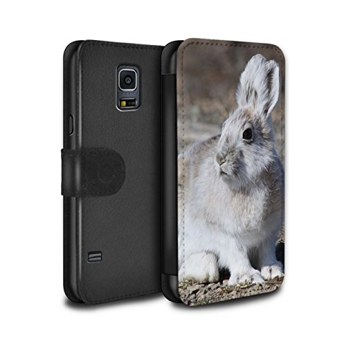 stuff4-pu-leather-wallet-flip-case-cover-for-samsung-galaxy-s5-neo-g903-white-arctic-hare-design-arc