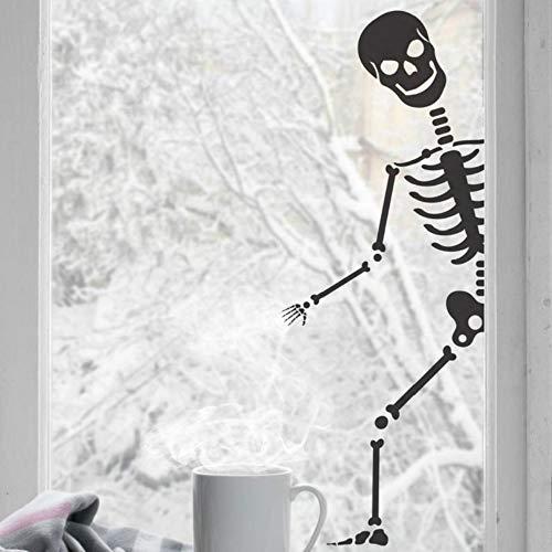 ufkleber. Bones Party Decor Fensteraufkleber Weihnachtsfeier Dekoration Zuhause Wohnzimmer Dekoration 42x112cm ()