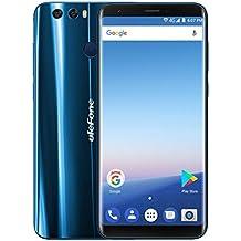 ULEFONE MIX2 - Móviles Libres 4G( Android 7.0 Pantalla de 5.7 FHD 18:9 Pantalla,Cámara Trasera de 13.0MP , 16GB de ROM , 2GB de RAM, MTK6737 1.3GHz Quad Core , Dual SIM 3300mAh Móviles ) (Azul)