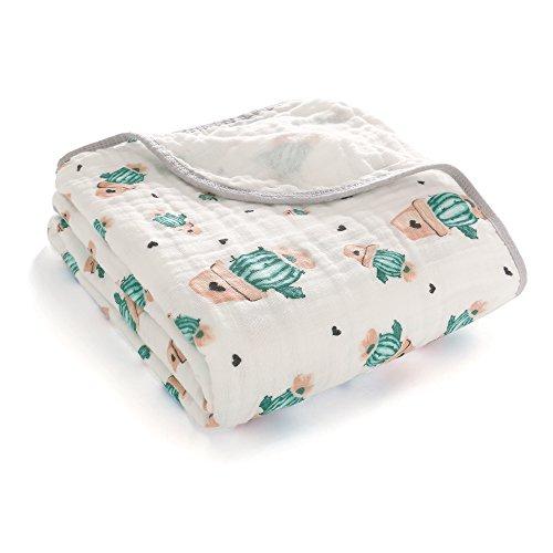 Manta Swaddle suave acogedora capa algodón