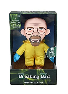 Breaking Bad Heisenberg Walter Talking Jouet en peluche (Blanc)