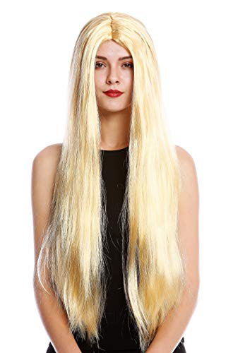 WIG ME UP ® - TH46-P03 Peluca Mujer Hombre para Carnaval Halloween Mu