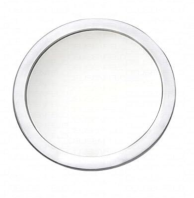 DEUSENFELD SKS107 - Design Acryl Saugnapf Kosmetikspiegel Vergrößerungsspiegel, ø 10cm , 7-Fach Vergrößerung, 3 Saugnäpfe !!!