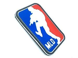 Patch Velcro Major League Doorkicker PVC Rouge Bleu