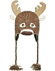 chapeau de ski cerf
