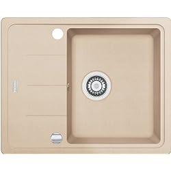 Franke Basis BFG 611–62Beige FRAGRANITE lavandino da cucina lavandino lavello