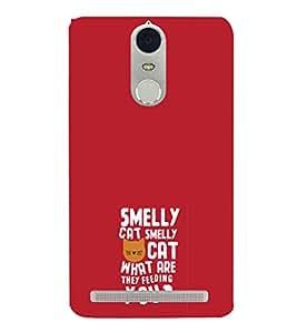 EPICCASE Smelly cat Mobile Back Case Cover For Lenovo K5 Note (Designer Case)