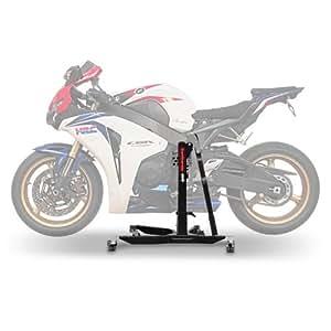 Bequille d'atelier Moto Centrale ConStands Power Honda CBR 1000 RR Fireblade 08-16, adapteur+roulettes incl.