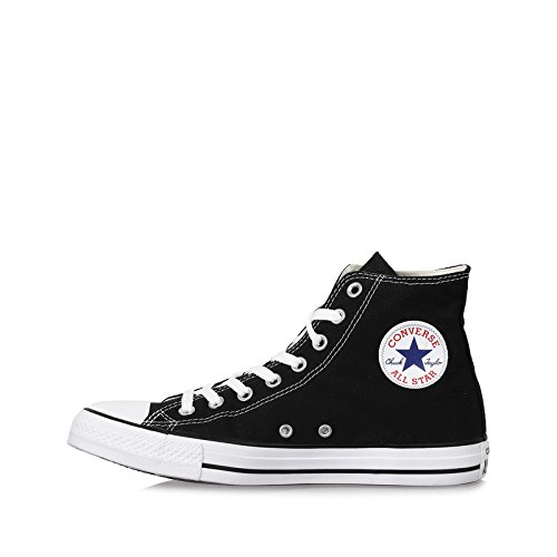 Converse Unisex Chuck Taylor All Star High Top Oxfords Black/White 7 D(M) US (Chuck Taylors High-top)