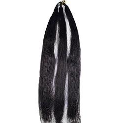 AASA Artificial Hair Parandi Choti Hair For Women Use Wedding Season, Black, 35 Gram, Pack Of 1(10260)