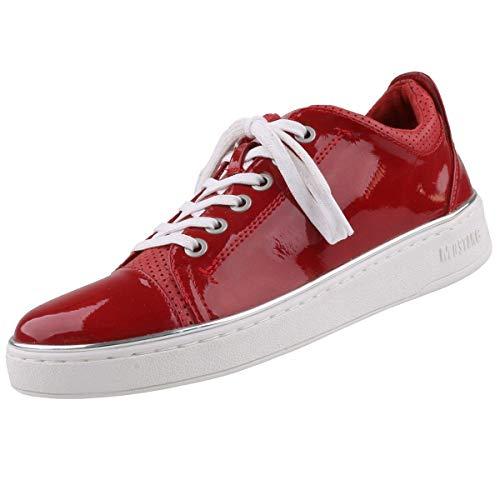 MUSTANG Damen 1300-301-5 Sneaker, Rot 5, 42 EU