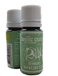 Ressources Naturelles - Huile Essentielle Basilic Tropical Bio 10 Ml