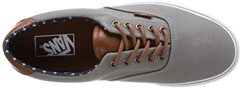 Vans ERA 59 Unisex-Erwachsene Sneakers Grau (t&l/frost Gray/plus)