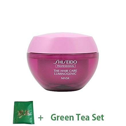 Shiseido Professional Lumino Genic Hair Mask 200g (Green Tea Set) -