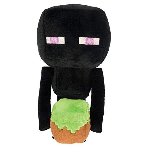 Minecraft - Happy Explorer Enderman Plush, Black