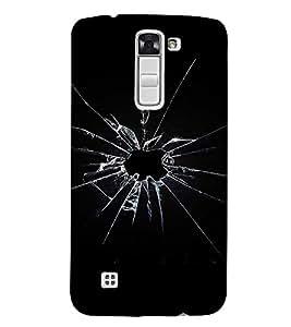 EPICCASE Broken screen Mobile Back Case Cover For LG K10 (Designer Case)