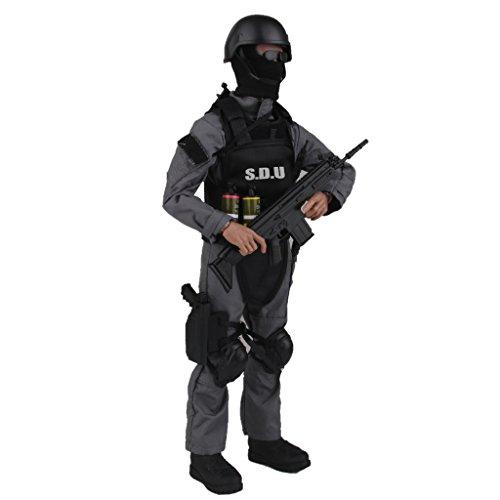 1:6 Mini SWAT Combat S.D.U Armee Action Figur Soldat Figur Spielzeug