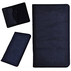 DCR Pu Leather case cover for Lava Xolo Q700s (black)