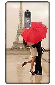 iessential paris Designer Printed Back Case Cover for Lenovo K6 Note