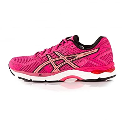 Asics Gel Zone 4 Ladies Running Shoes, Fuchsia