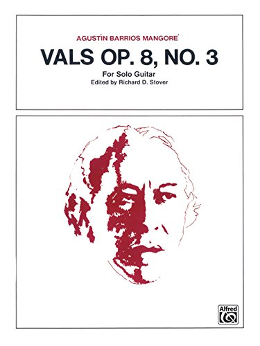 Vals, Op. 8, No. 3: Sheet
