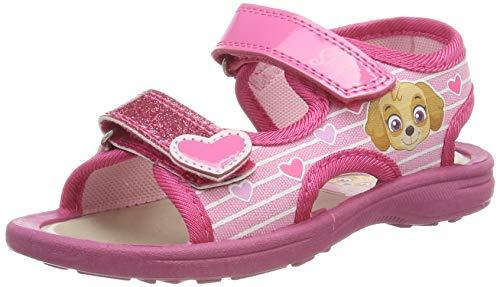 Paw Patrol Mädchen Girls Kids Classic Sandals and Mules Riemchensandalen, Pink Pnk, 27 EU