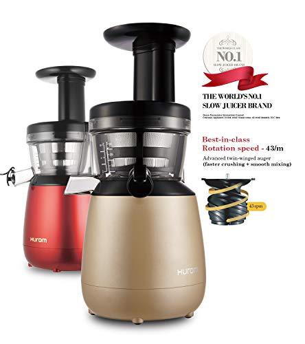 Hurom HP-LBD12 150-Watt Cold Press Juicer (Sandy Gold)