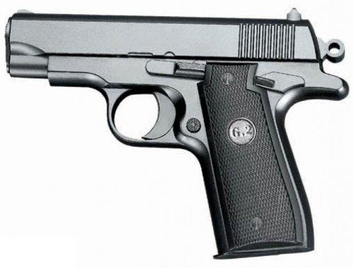 VOLLMETALL Softair Sport Pistole Schwer! G-2