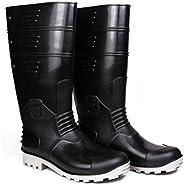Hillson SB-005 Torpedo Safety Shoes (Black/Grey, Size 9) 1 Pair